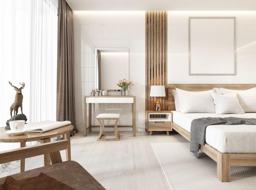 Espacios únicos con muebles de madera