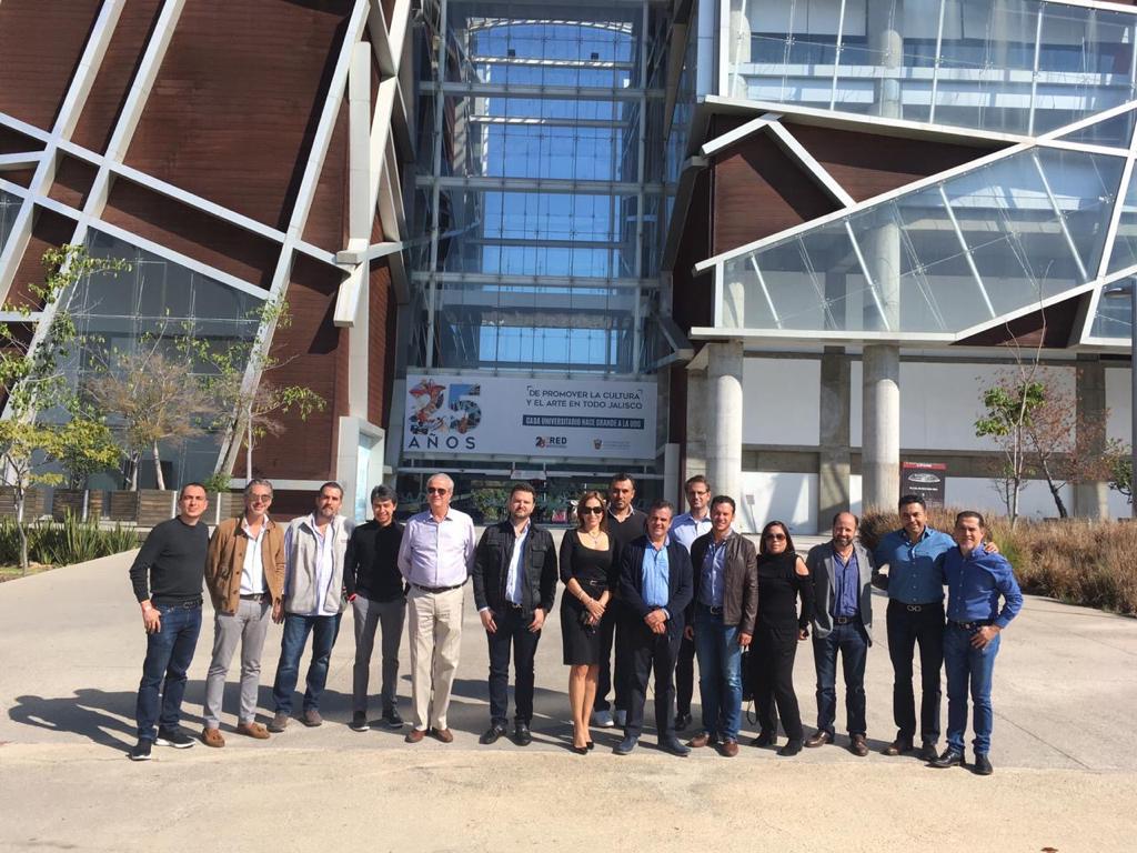 Grupo Tenerife recibe la visita de destacados arquitectos de Querétaro.