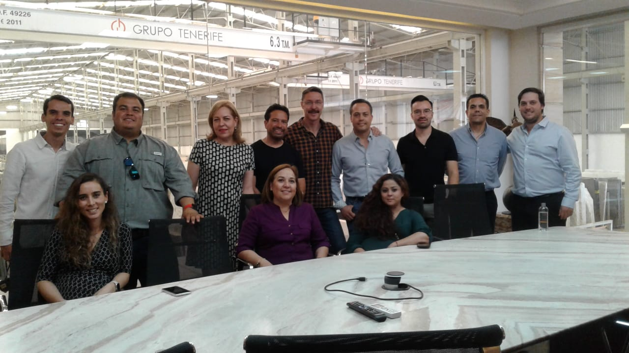 Recorrido en Grupo Tenerife