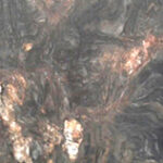CUARCITA BLANDA BLACK FANTASY / SILVER FUSION PLACA 2CM LEATHER