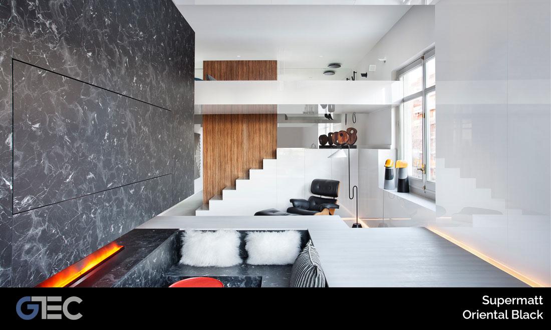 panel premium supermatt oriental black