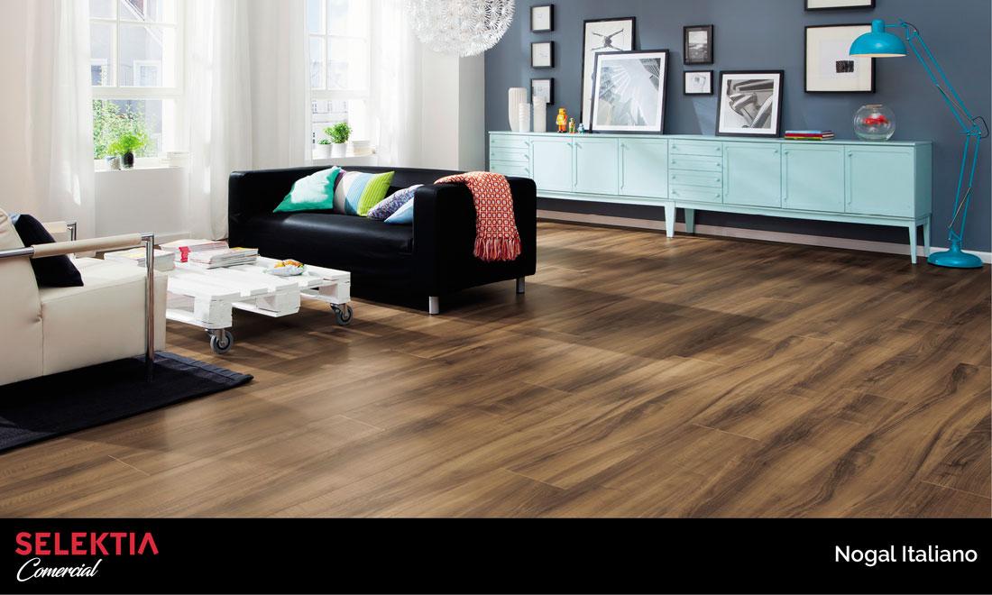 piso de madera de nogal italiano