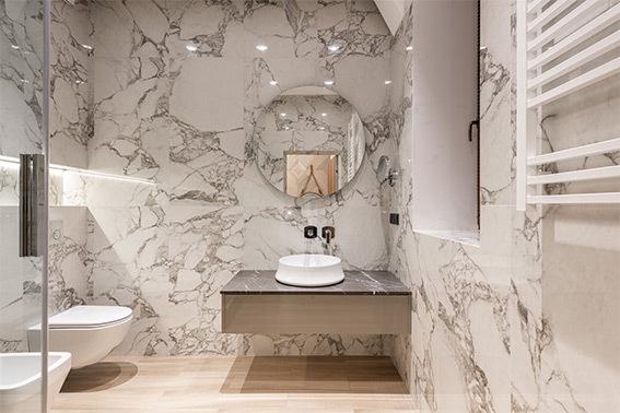 Mármol para baños ¿Compatibles?