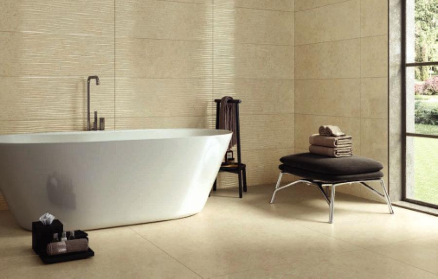 pisos porcelánicos o de porcelanato en baños
