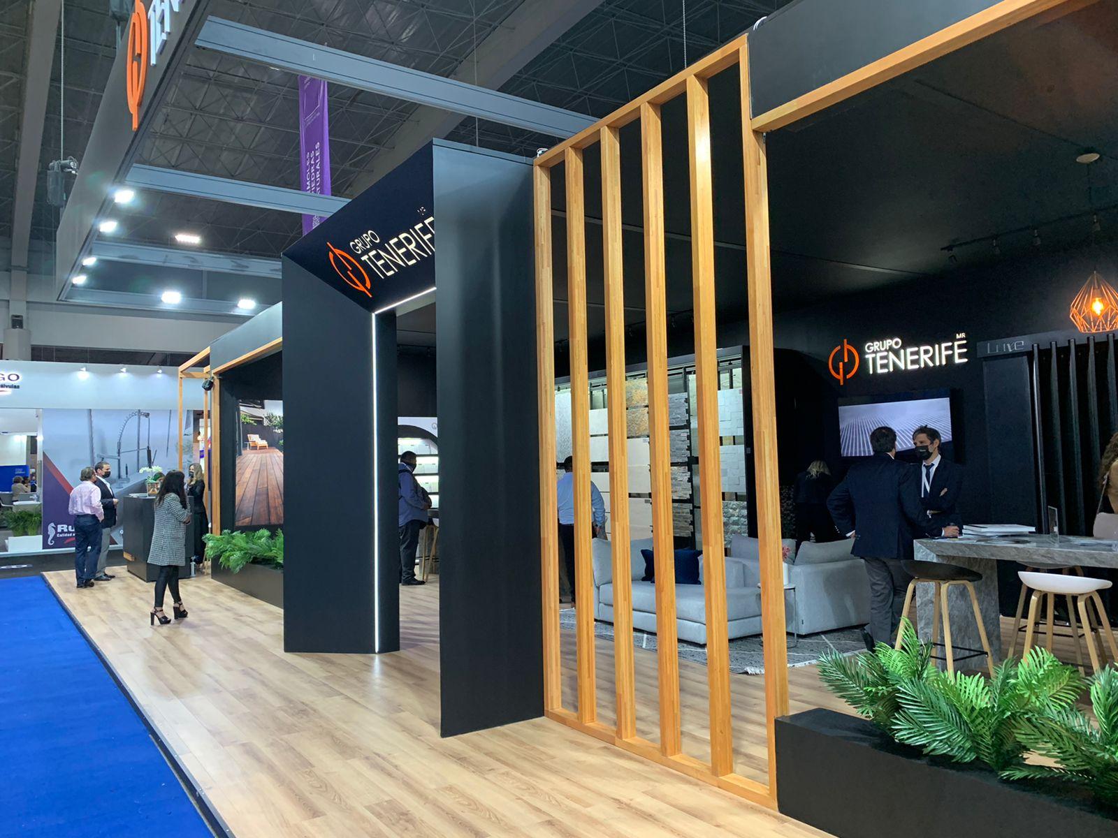 Gran éxito de Grupo Tenerife en Obra Blanca Expo