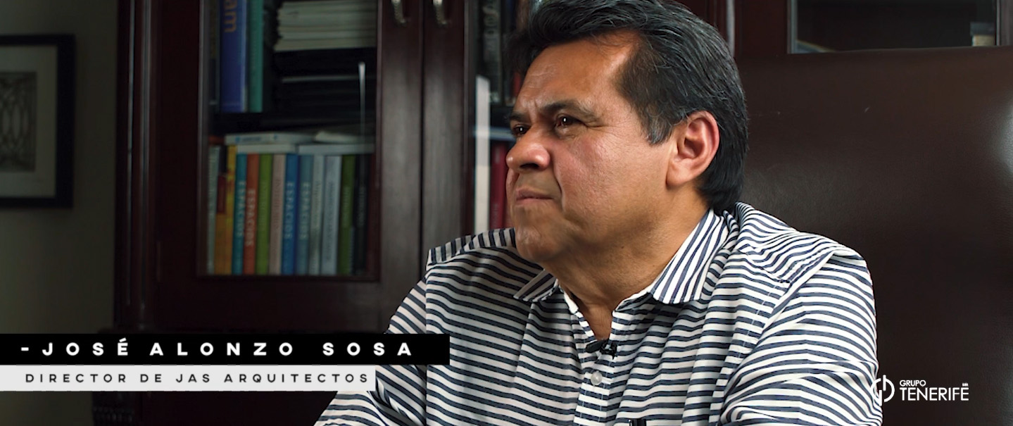 """José Alonzo Sosa (JAS Arquitectos): """"Las obras son nuestros promotores"""""""