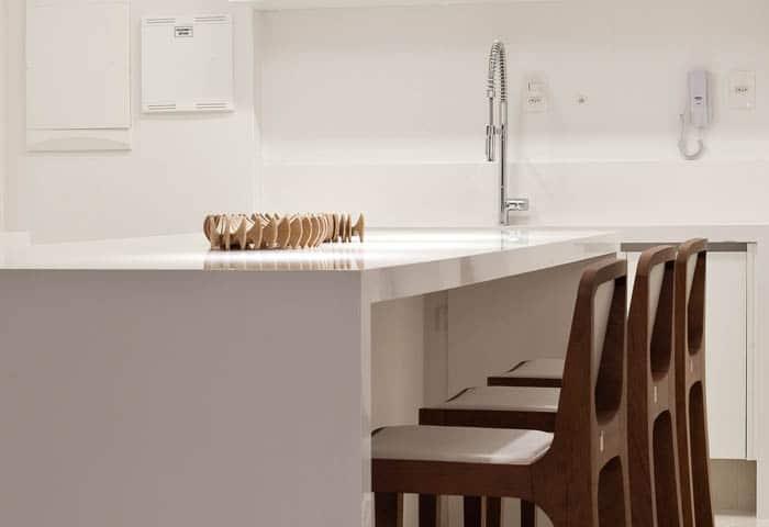Cuarzo para cocinas, diseño práctico y encantador