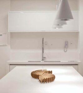 Cocina moderna de cuarzo